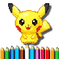 BTS Pokemon Coloring Book Game