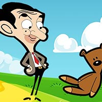 Mr. Bean Coloring Book Game
