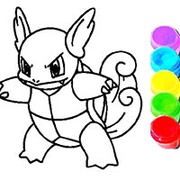 Pokemon Coloring Book Game